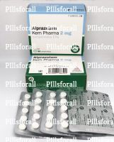 Xanax Alprazolam 2mg Kern Pharma delivery from UK to UK x 100