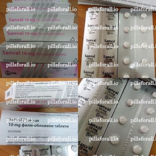 Ambien generic, Zolpidem Sanval 10mg x 180 Delivery from EU.